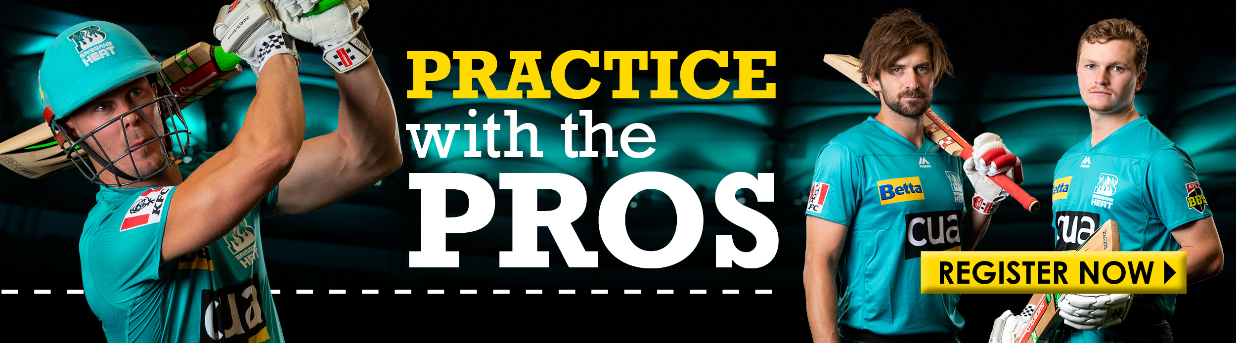 BRISBANE HEAT - Practice with the pros - LANDING PAGE BANNER 900x250-1