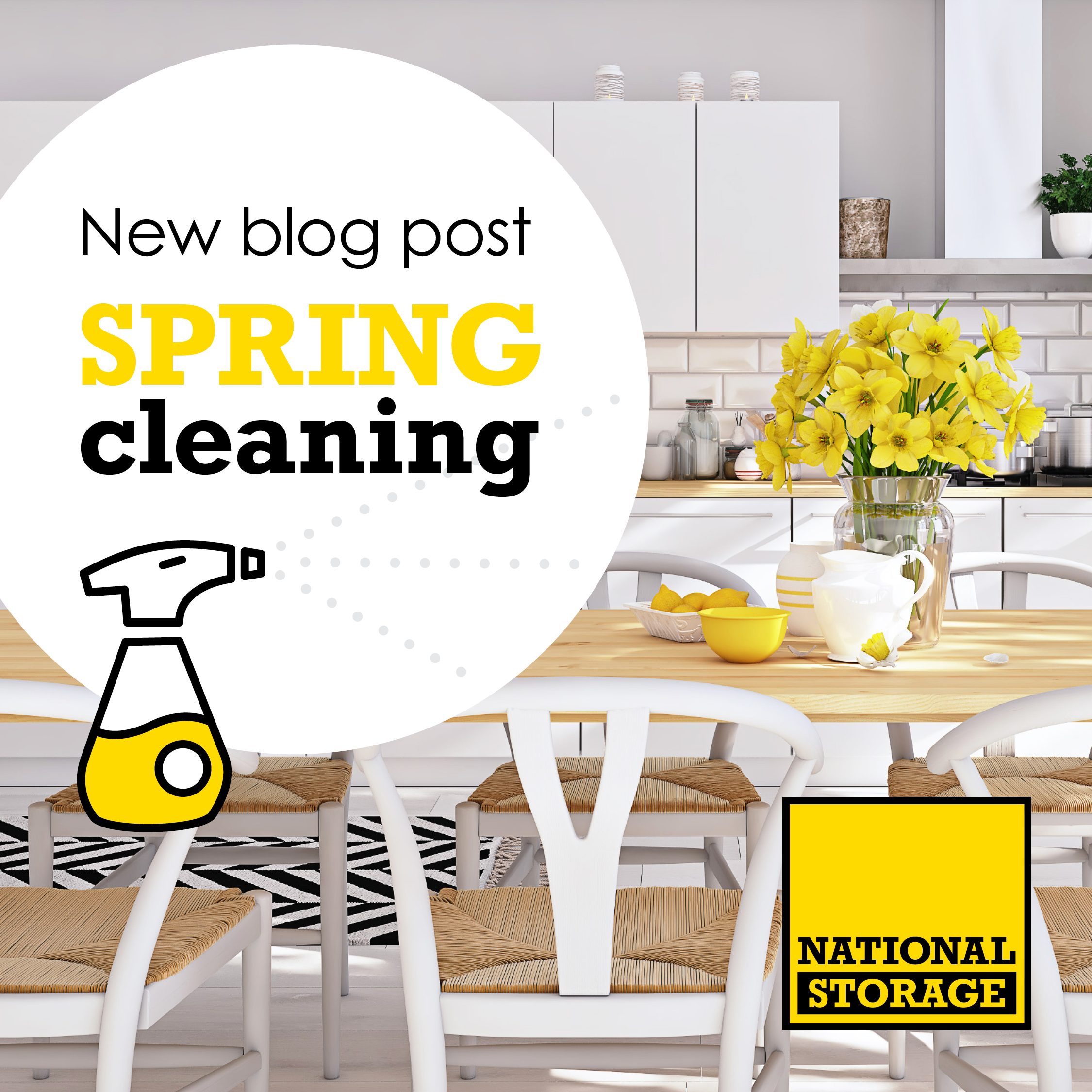 NS Blog Spring Cleaning Social Media Tile 1080x1080px